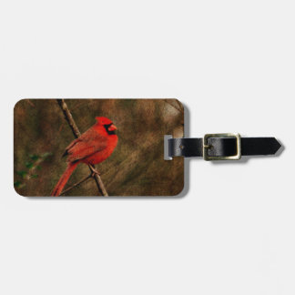 Red Bird Tag For Luggage