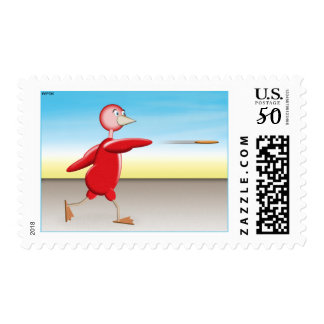 Red Bird Postage