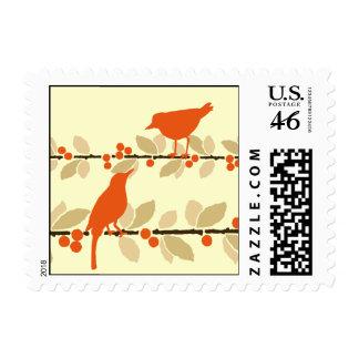 Red Bird Stamp
