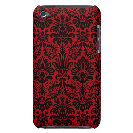 RED-BLACK 2 iPod TOUCH Case-Mate CÁRCASA