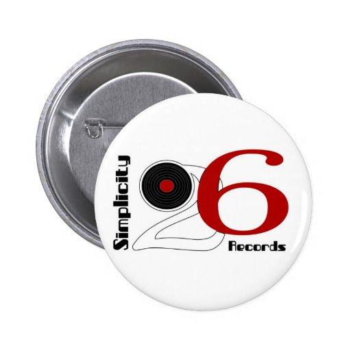 red black 2s6 logo pin