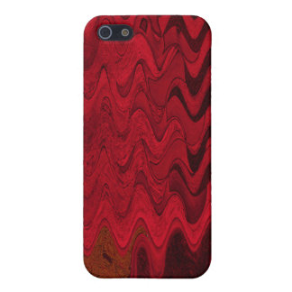 red black abstract case for iPhone 5
