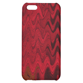 red black abstract iPhone 5C cases