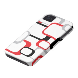 Red, Black and Gray Case-Mate Case