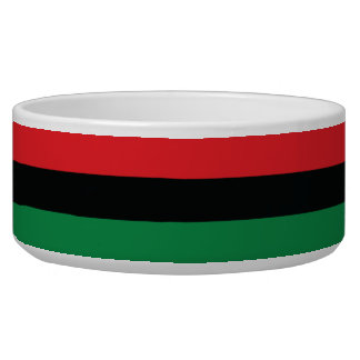 Red, Black and Green Flag Bowl