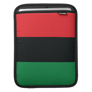 Red, Black and Green Flag iPad Sleeves