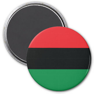 Red Black and Green Flag Refrigerator Magnets