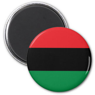 Red Black and Green Flag Magnet