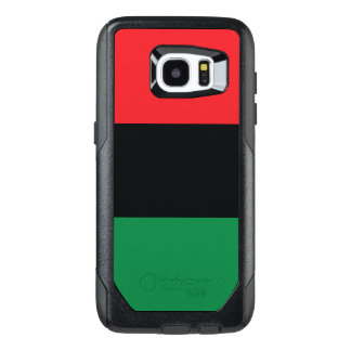 Red, Black and Green Flag OtterBox Samsung Galaxy S7 Edge Case