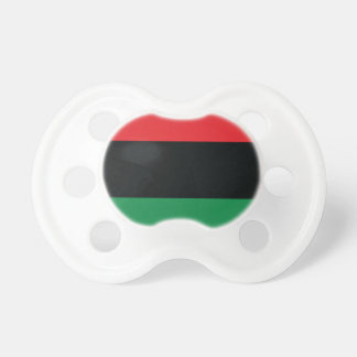 Red, Black and Green Flag Pacifier