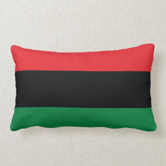 Red, Black and Green Flag Pillows