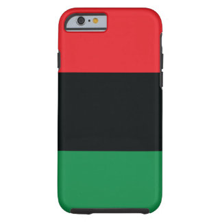 Red, Black and Green Flag Tough iPhone 6 Case