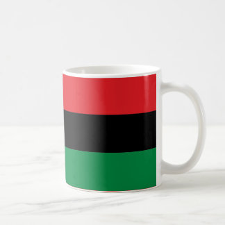 Red Black and Green Pan-African UNIA flag Coffee Mug