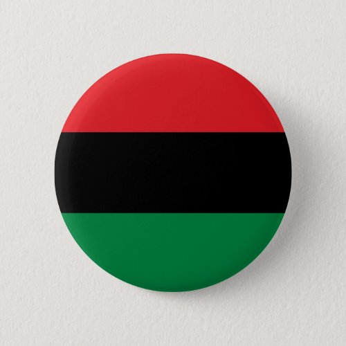 Red Black and Green Pan_African UNIA flag Pinback Button