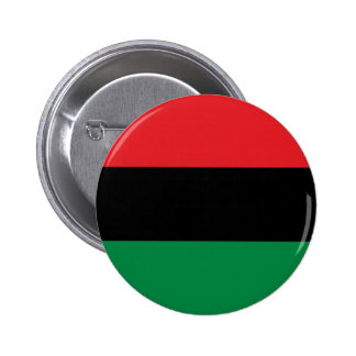 Red Black and Green Pan-African UNIA flag Pinback Button