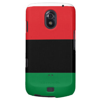 Red Black and Green Pan-African UNIA flag Samsung Galaxy Nexus Cover