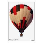 Red, Black and White Hotair Balloon Wall Skin