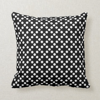 Red, Black and White Throw Pillow