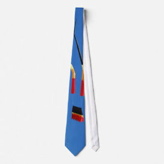 Red, Black, and Yellow Kite Neck Tie