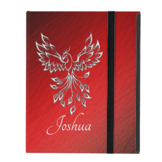 Red Black Ashes and Phoenix Personal iPad Case