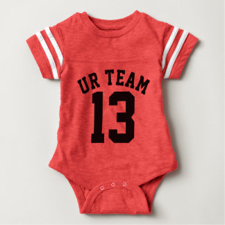 Red & Black Baby | Sports Jersey Design T-shirt