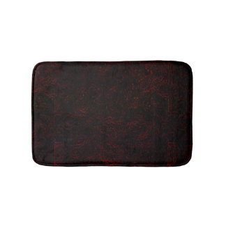 Red/Black Bathroom Mat