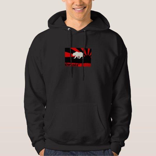 RED/BLACK BEAR HOODIE