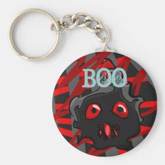 Red & Black BOO Keychain