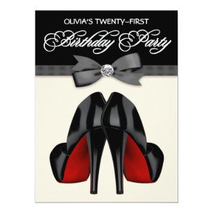 21st Birthday Invitations Announcements Zazzle