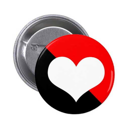 Red & Black Button