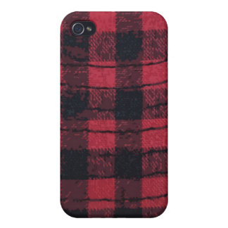 red black checkered iPhone 4/4S case
