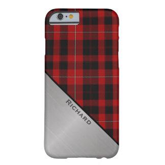 Red & Black Cunningham Plaid iPhone 6 case