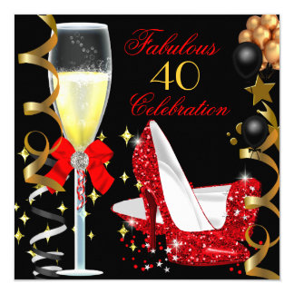 40 And Fabulous Invitations & Announcements | Zazzle - photo#5