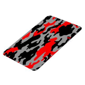 RED, BLACK & GRAY CAMO MAGNET