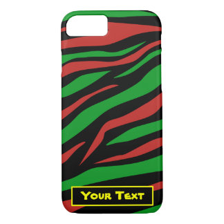 Red Black Green - A Tribe Called Quest Theme iPhone 7 Case