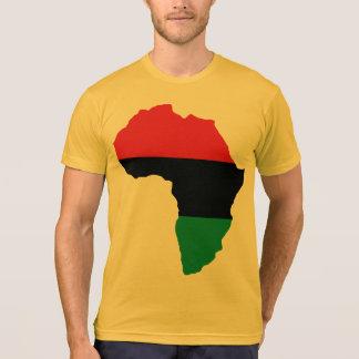 Red, Black & Green Africa Flag T-Shirt