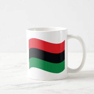 Red, Black & Green Flag Coffee Mug