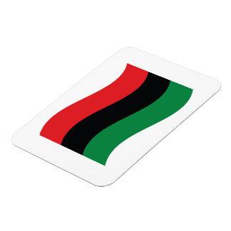 Red Black Green Flag Magnets