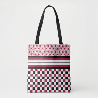 Red Black Honey Tote Bag