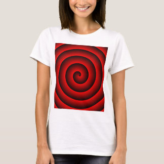 Red & Black Hypnotic T-Shirt