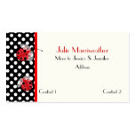 Red & Black Ladybugs Mommy Calling Card Double-Sided Standard Business Cards (Pack Of 100)
