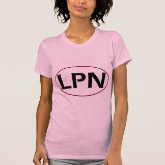 Red Black LPN T Shirt