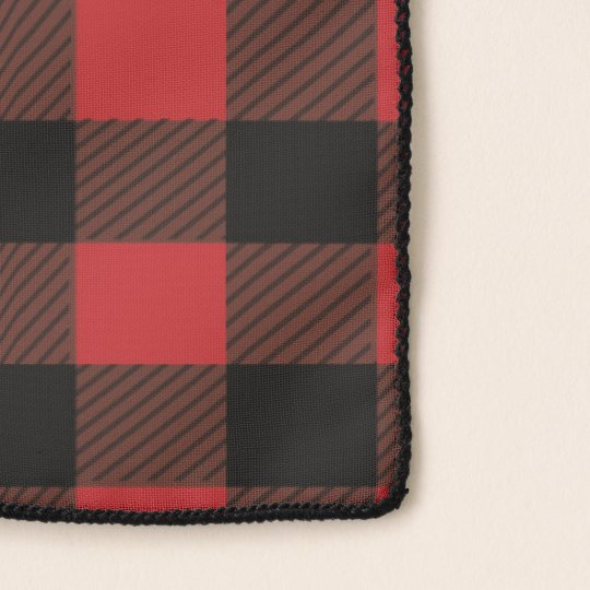 8843b049e Red Black Lumberjack Buffalo Plaid Scarf | Zazzle.com