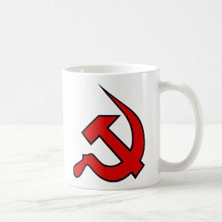 Red & Black Neo-Hammer & Sickle Coffee Mug