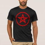 Red & Black Pentacle T-Shirt