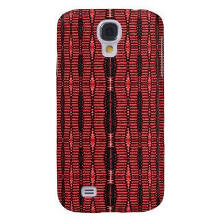red black pern samsung galaxy s4 case