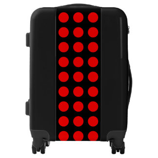 Red Black Polka Dots Gregorio's Fave Luggage