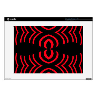 Red  black  rhapsody decals for laptops