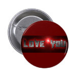 RED BLACK ROCK LOVE YOU COMMENTS EXPRESSIONS SAYIN PINS