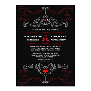 Music Themed Wedding Invitations Zazzle